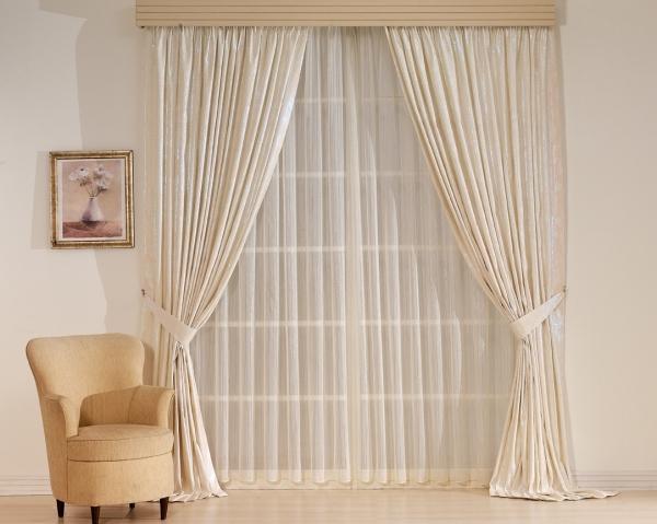 Прозрачная тюль на окно