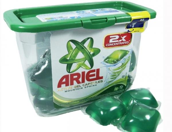 Зеленые капсулы Ариэль