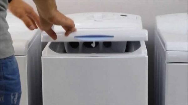 Вертикальная загрузка стиральной машины